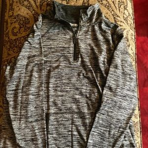 Plus size athletic pull over